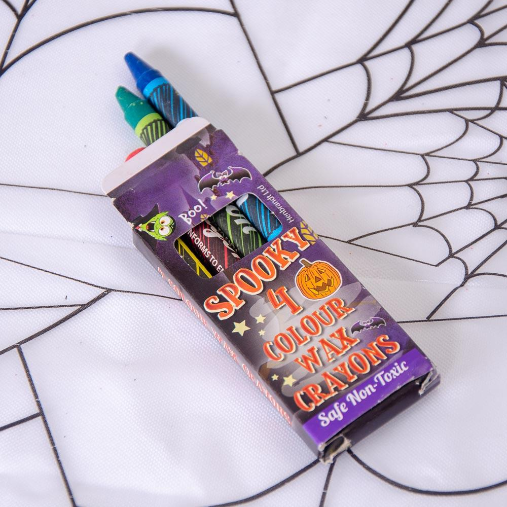 Mini Halloween Wax Crayons (x6)