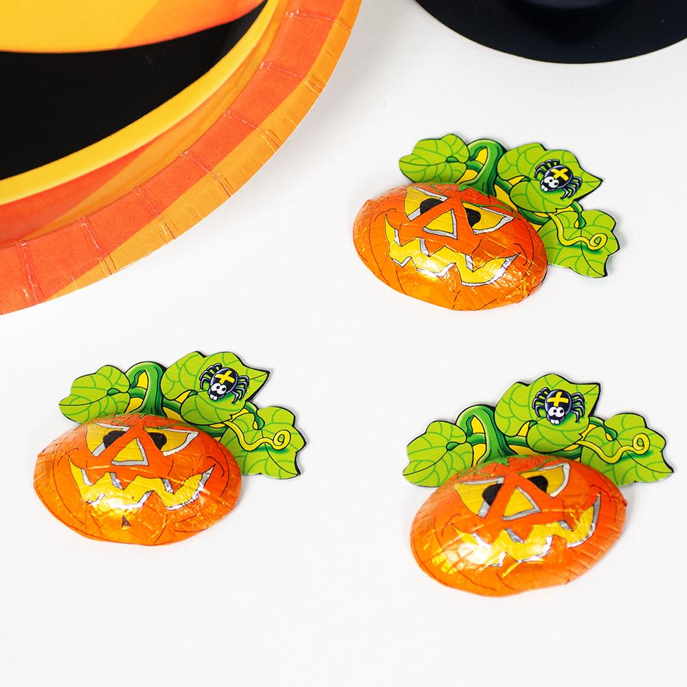 Milk Chocolate Halloween Pumpkins (x3)