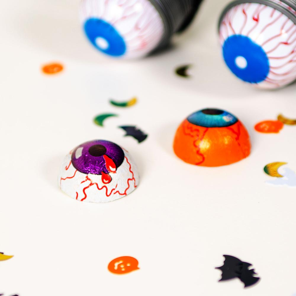Milk Chocolate Halloween Eyeballs (x10)