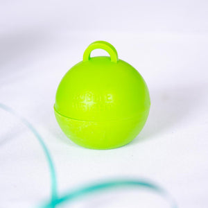 Bubble Balloon Weight Lime Green