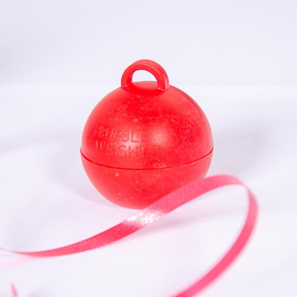 Click to view product details and reviews for Bubble Balloon Weight Red.