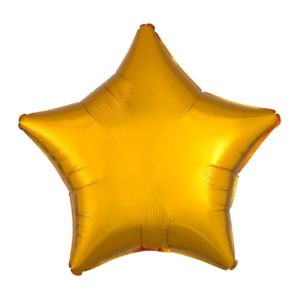 Star Foil Balloon - Metallic Gold