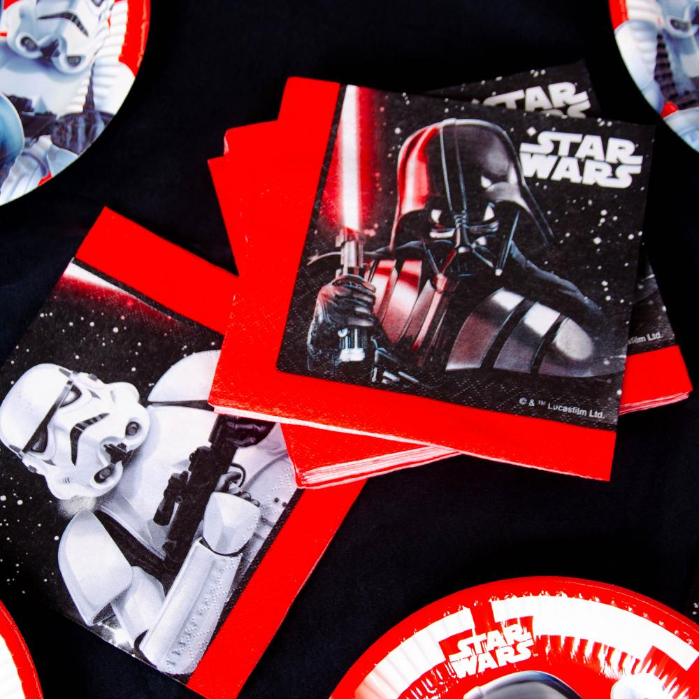 Star Wars Paper Party Napkins (x20)