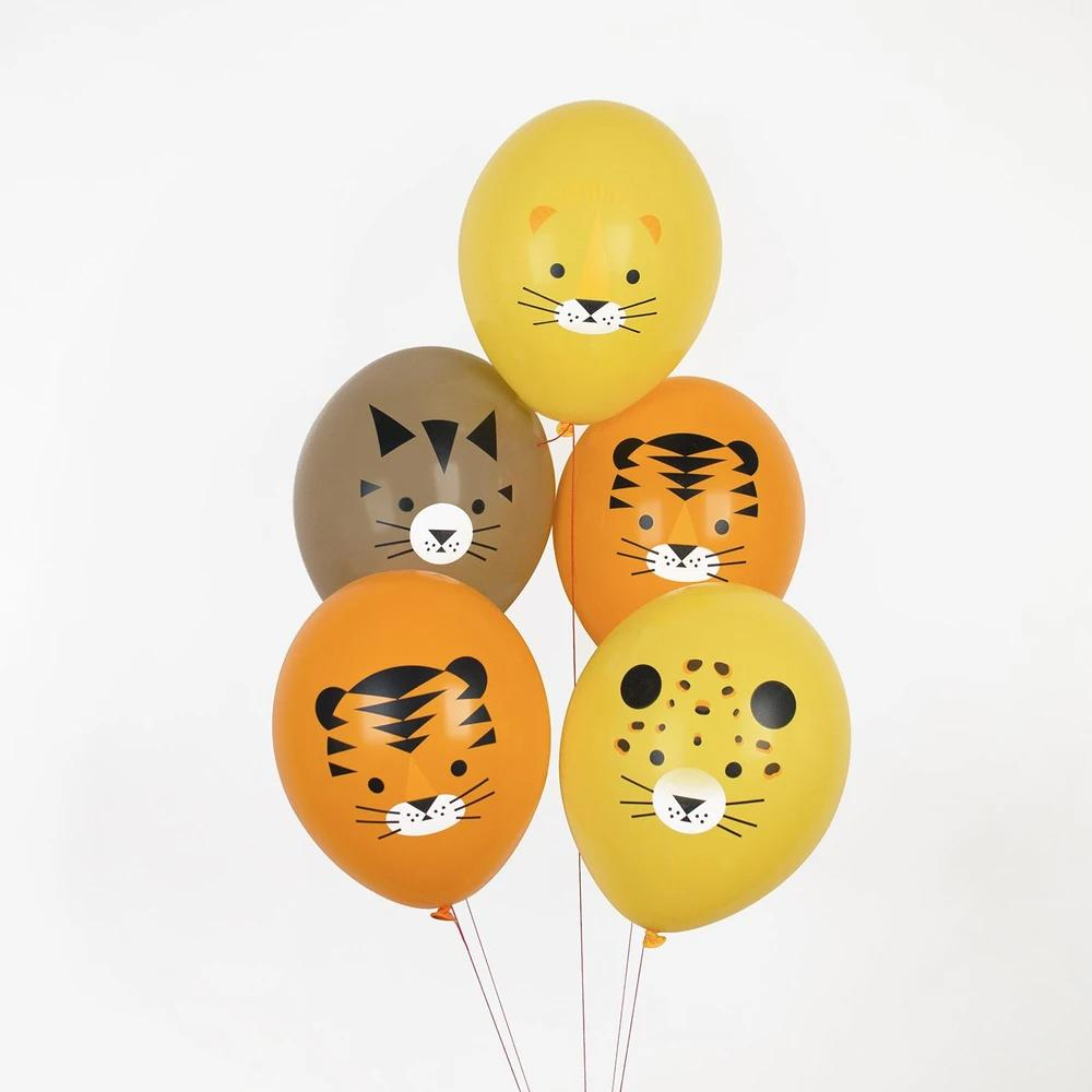 Mini Felines Latex Balloons (x5)