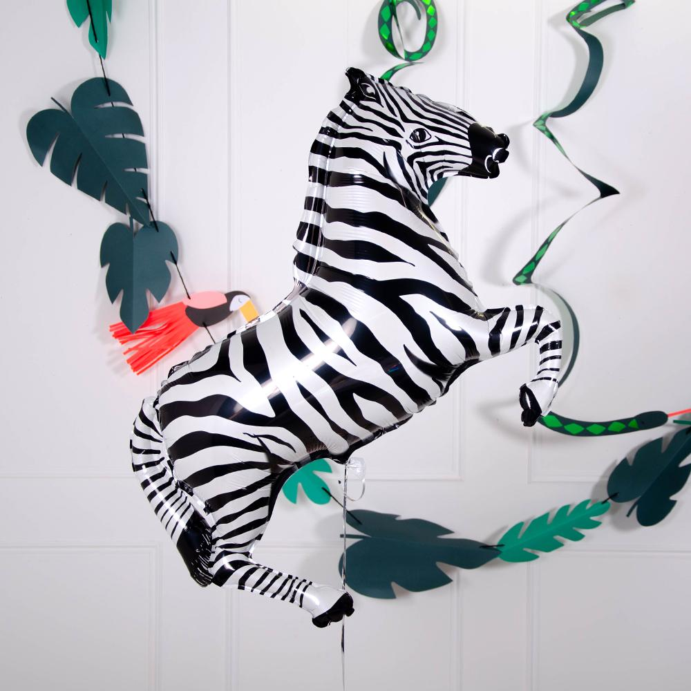 Supershape Zebra Helium Balloon 42""