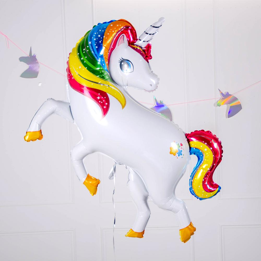 Supershape Unicorn Helium Balloon