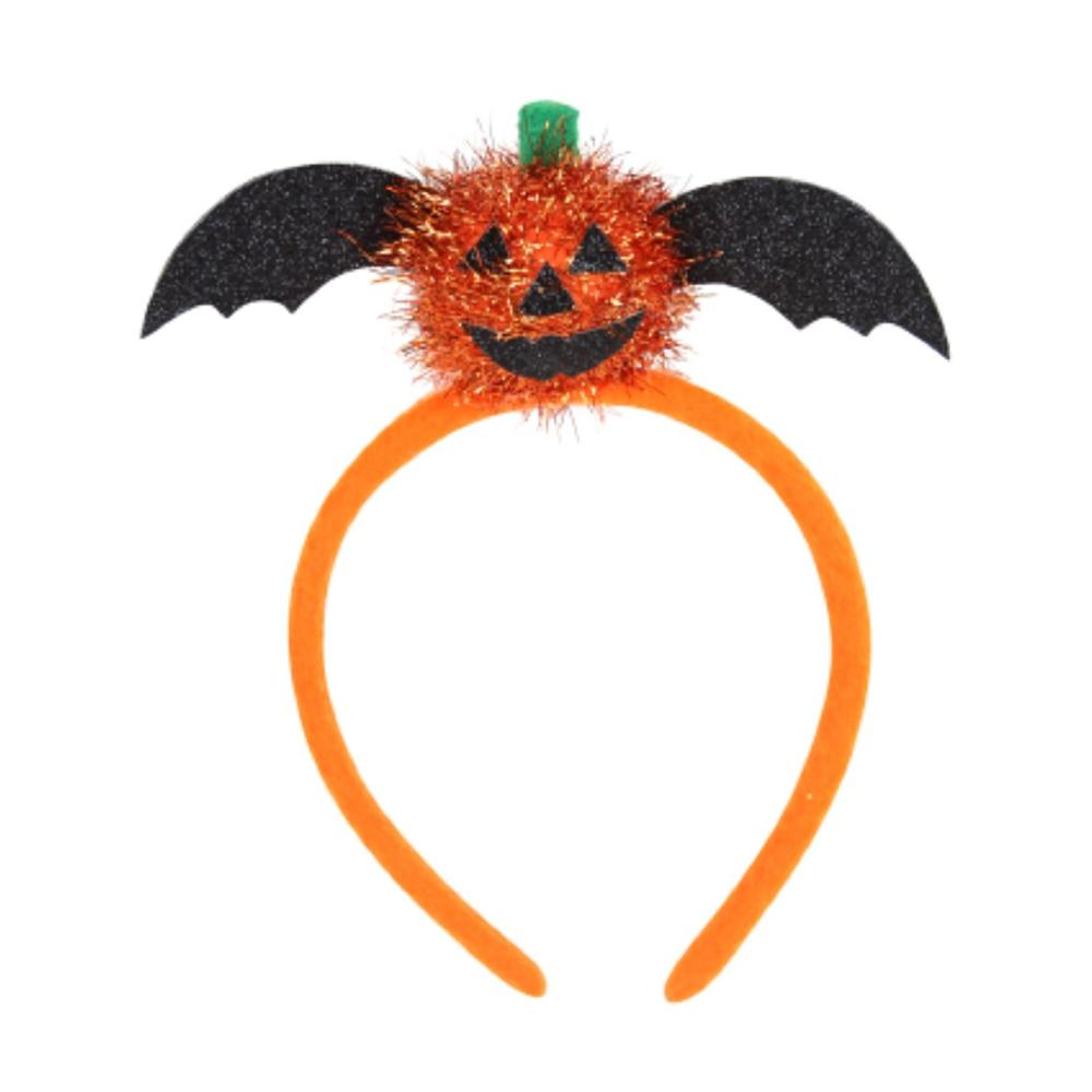 Pumpkin Bat Hairband (Child Size)