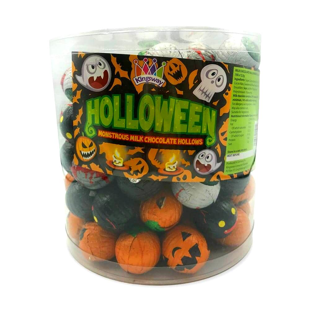 Halloween Milk Chocolate Characters (1.25kg)