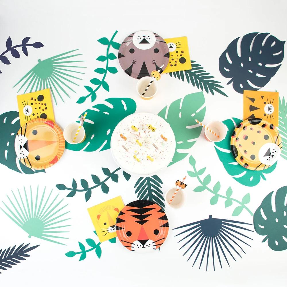 Mini Jungle Cats Paper Party Napkins (x20)
