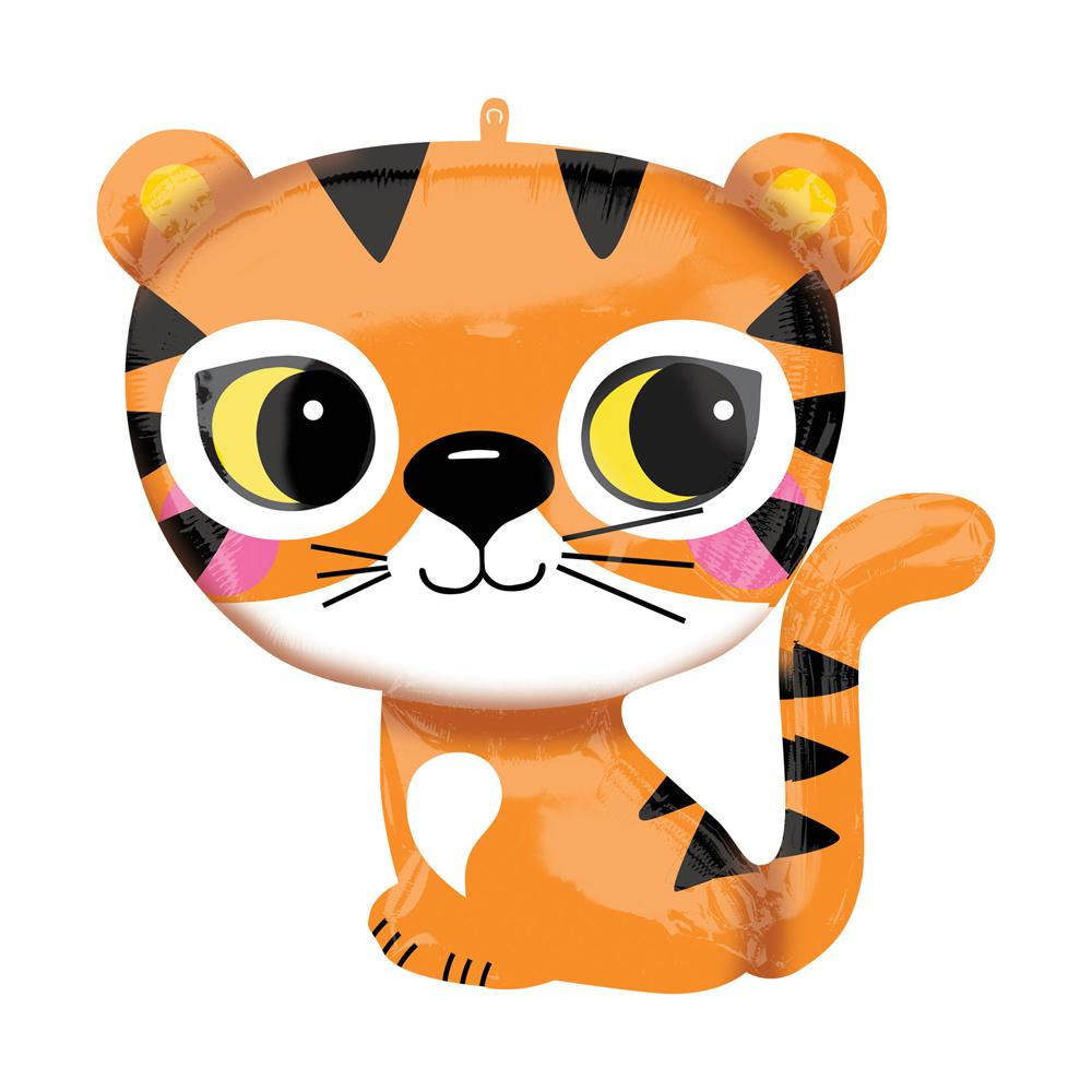 Supershape Mini Jungle Tiger Helium Balloon