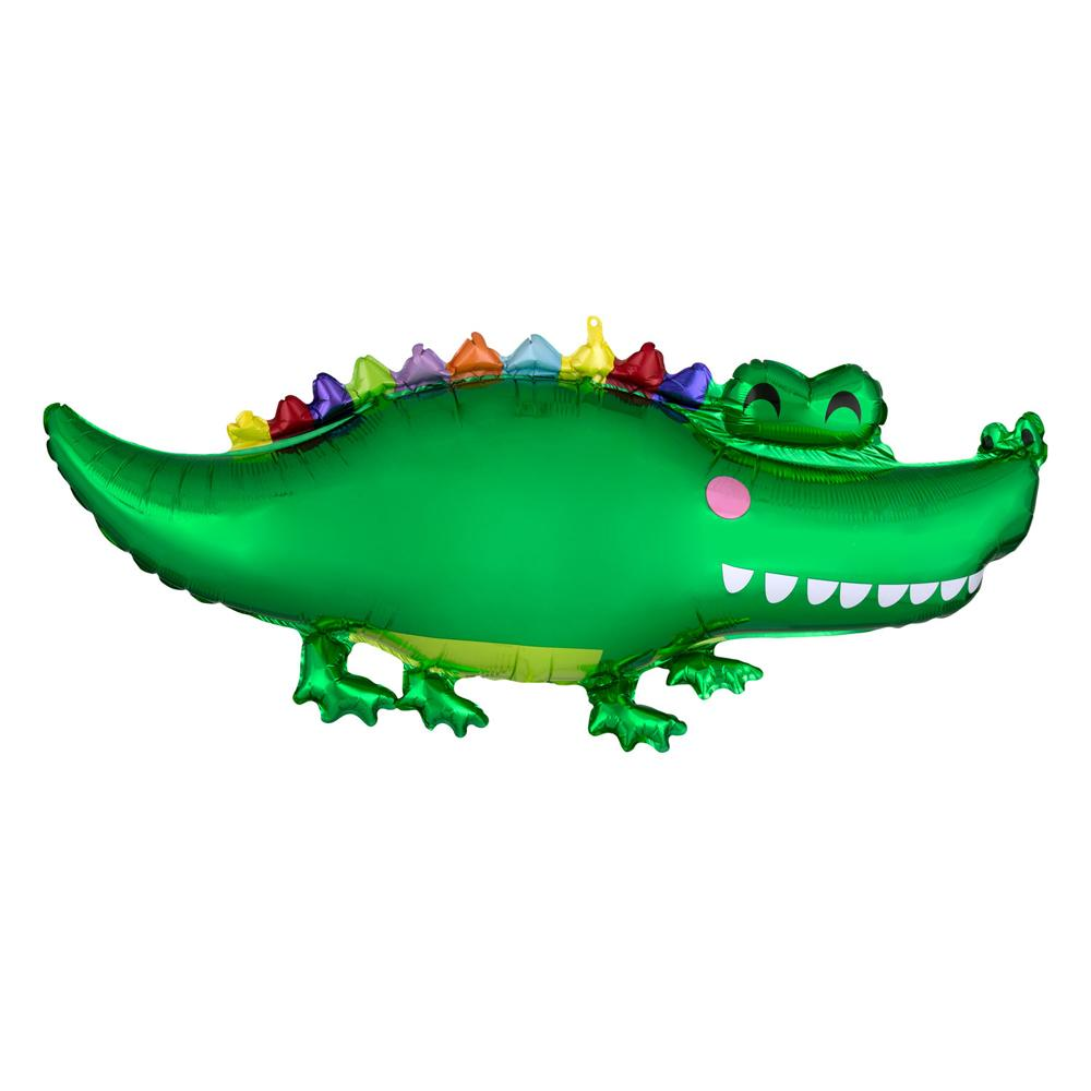 Supershape Happy Gator Helium Balloon