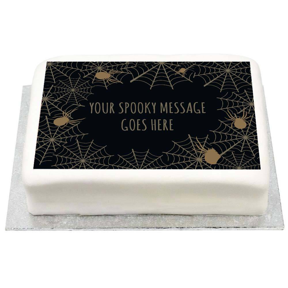 Personalised Photo Cake - Frightfully Fabulous
