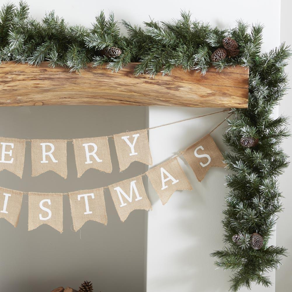 Christmas Foilage Runner Garland