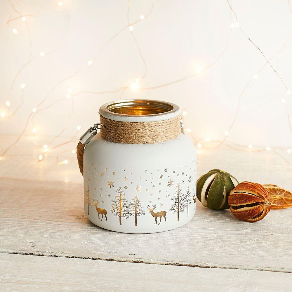 Medium Christmas Candle Holder