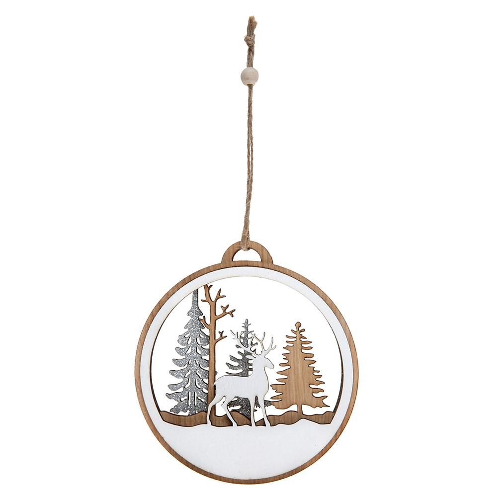 Wooden Rustic Hanging Decoration
