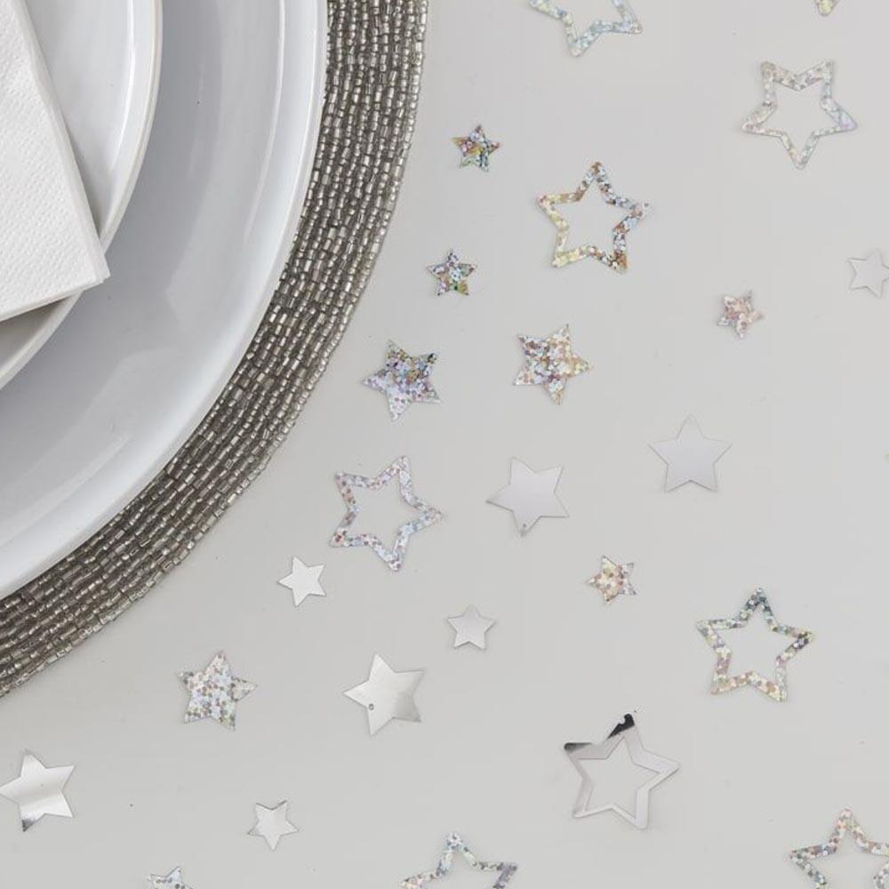 Star Shaped Table Confetti