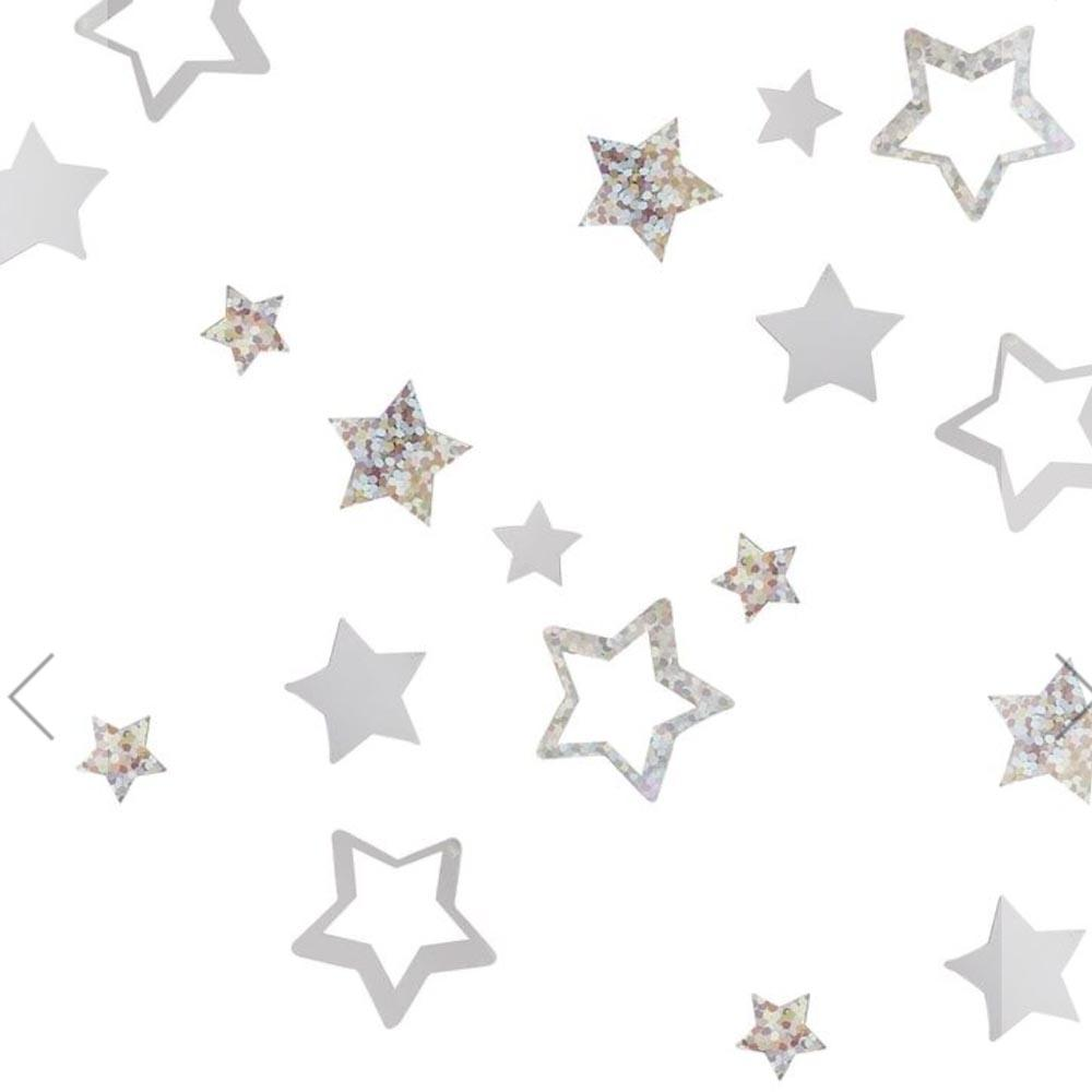 Star-Shaped Christmas Table Confetti