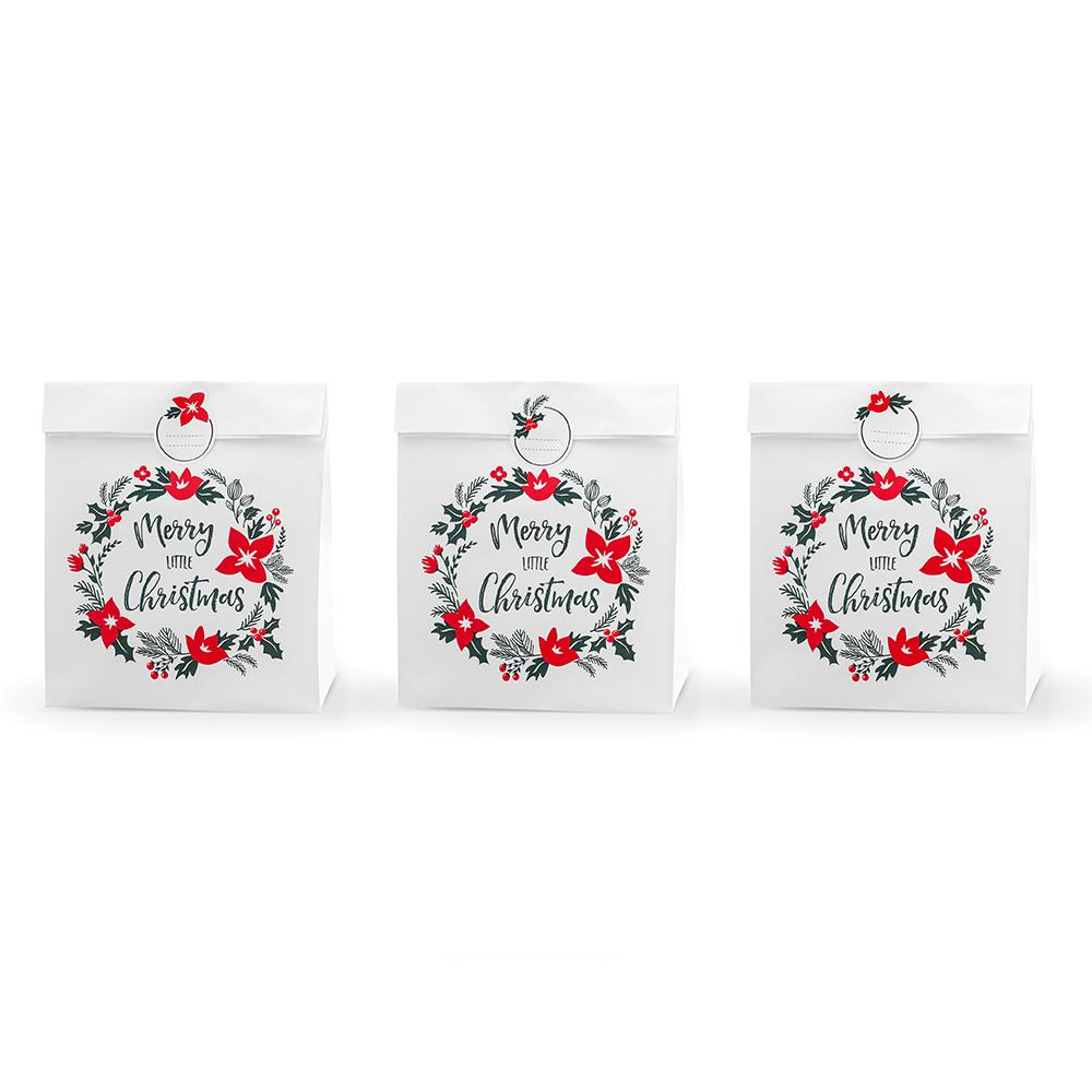 Traditional Touches Paper Favour Bags