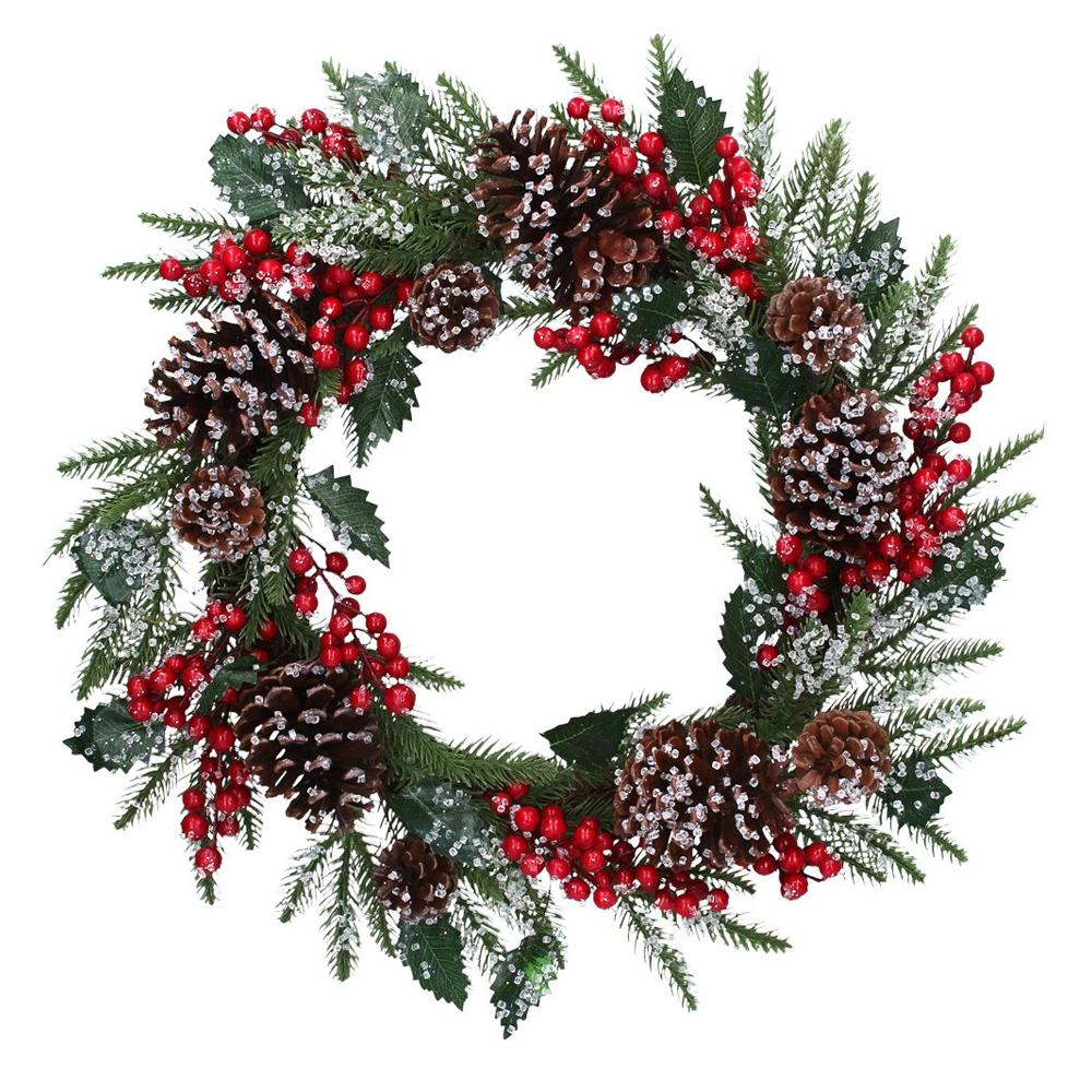 Traditional Touches Christmas Wreath