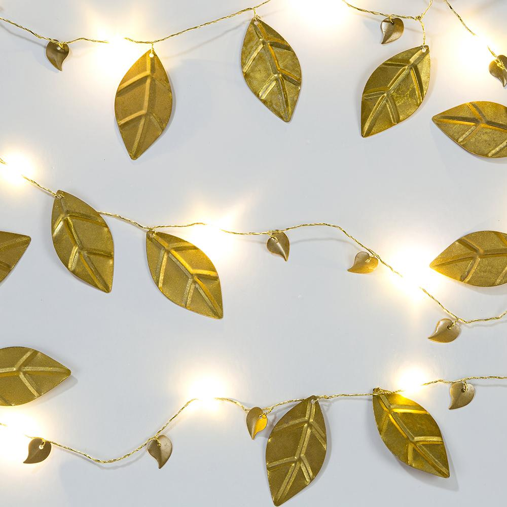 Damask Leaf String Lights (2m)