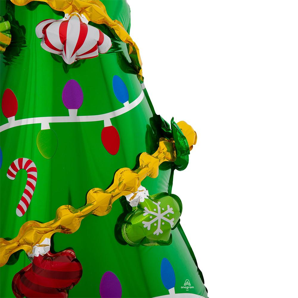 Air Filled Christmas Tree Standing Balloon