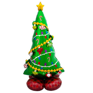 AirLoonz Christmas Tree Standing Balloon