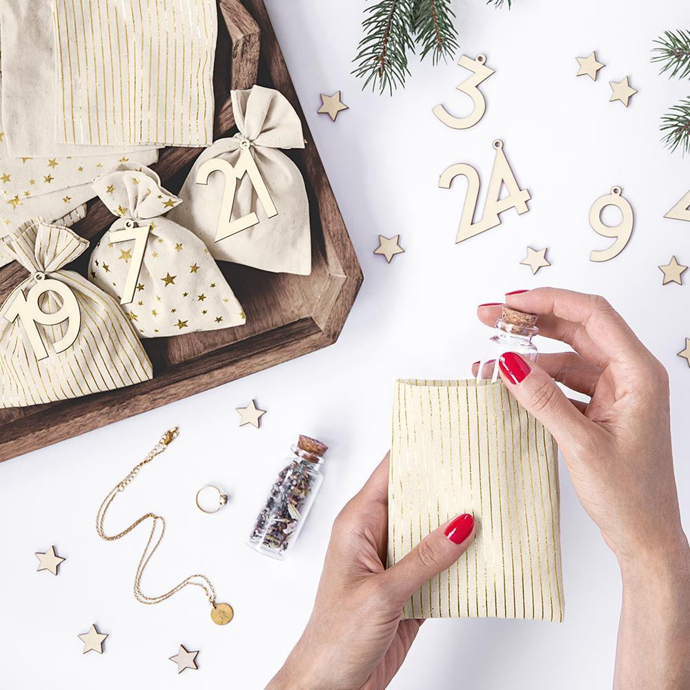 DIY Advent Calendar Sacks