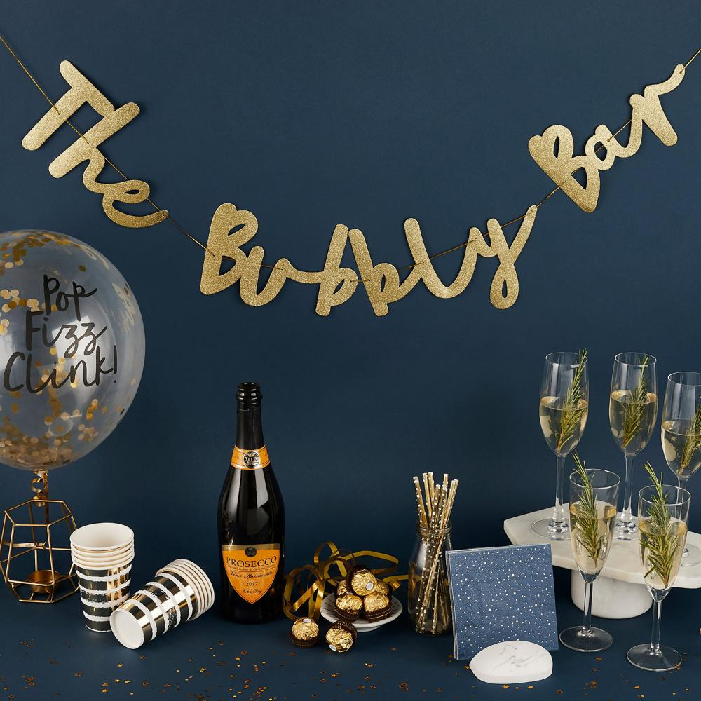 Click to view product details and reviews for Bubbly Bar Party Garland 2m.