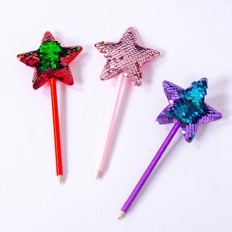 Sequin Star Pen