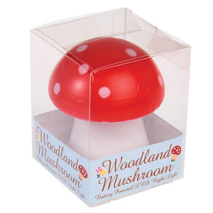 Red Toadstool LED Nightlight