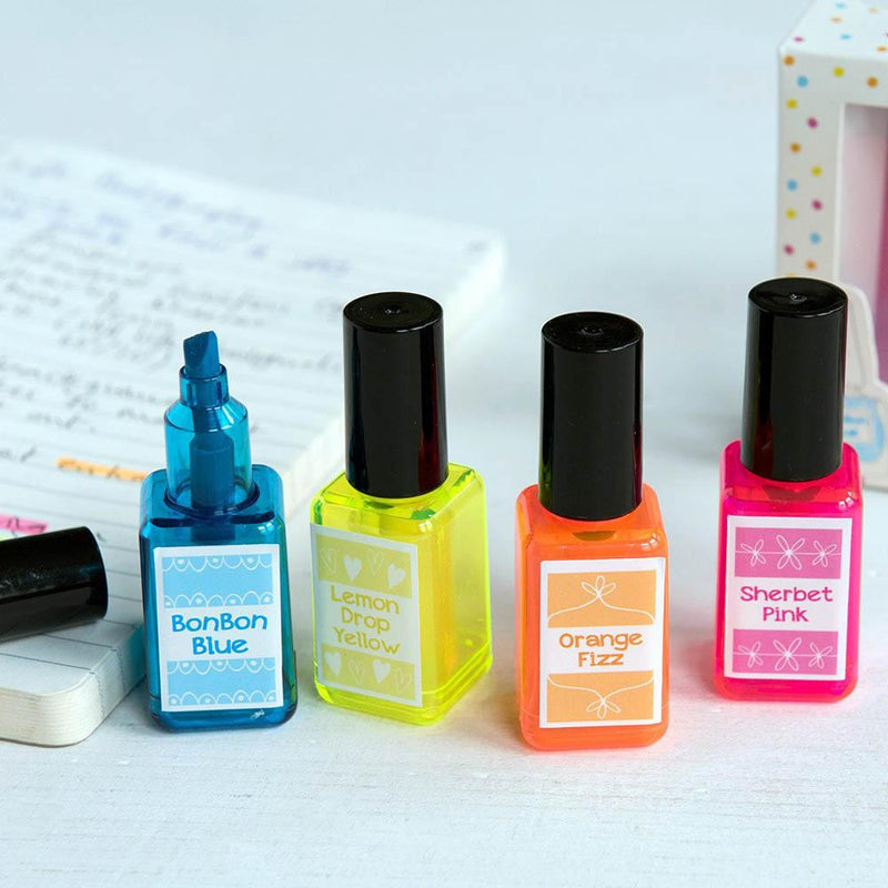 Spotty Nail Varnish Highlighters