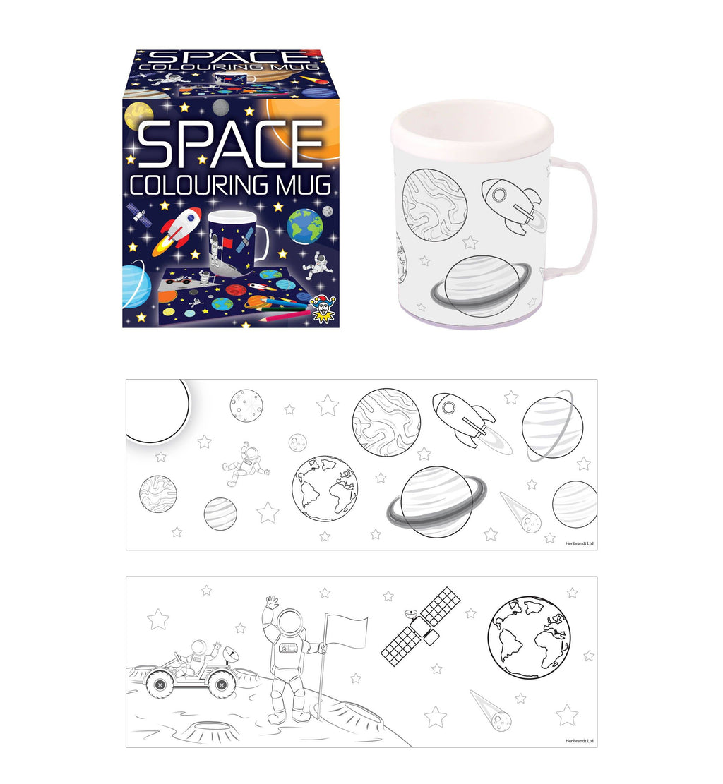 Space Colouring Mug