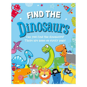 Find The Dinosaurs Activity Book