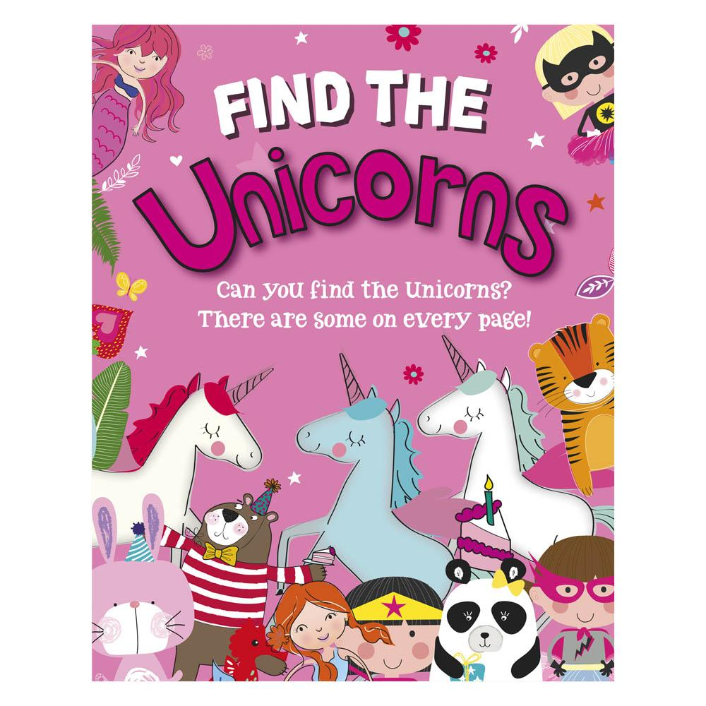 Find The Unicorns Activity Book