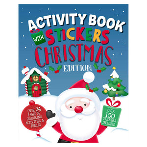 Christmas Activity Book & Stickers