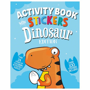 Dinosaur Activity Book & Stickers