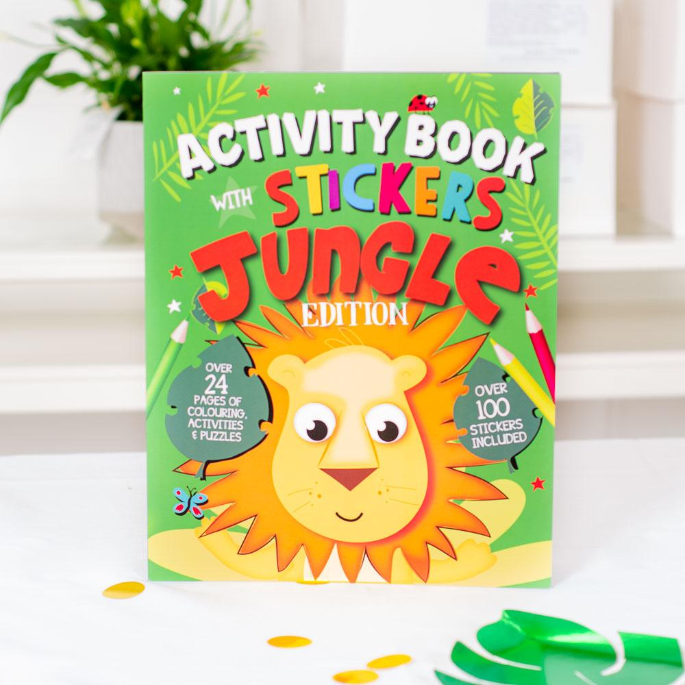 Jungle Activity Book & Stickers