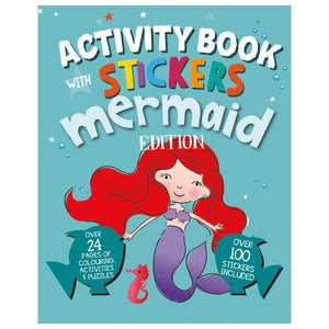 Mermaid Activity Book & Stickers