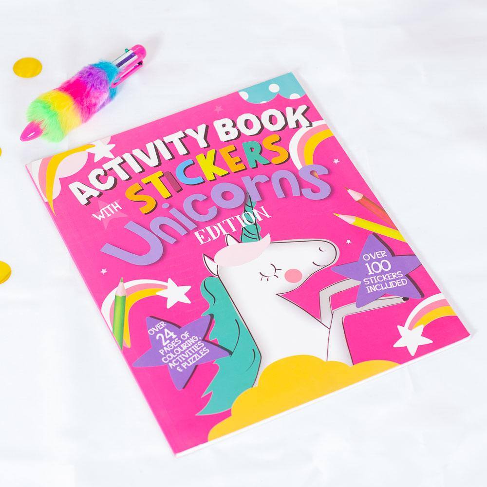 Unicorn Activity Book & Stickers