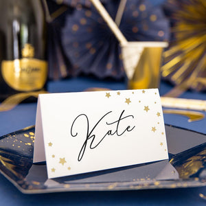 New Year's Eve Place Cards (x10)