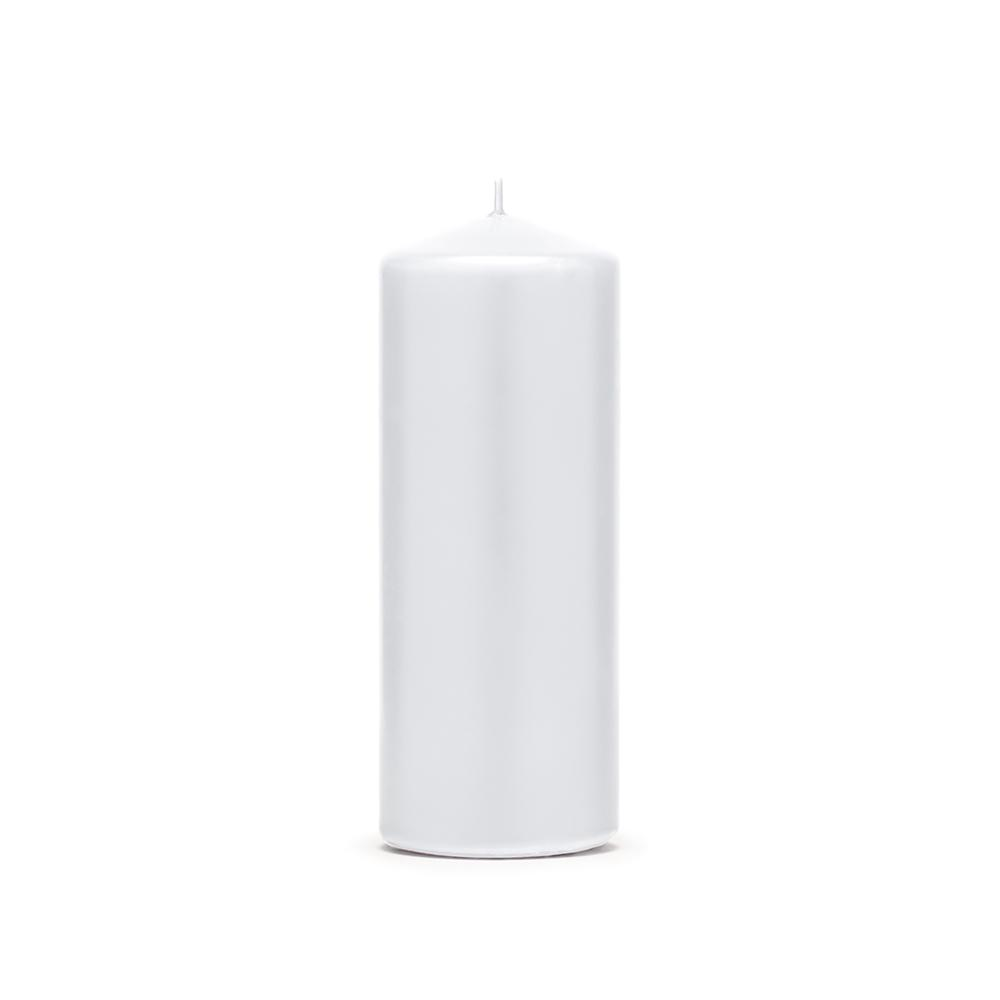 Small Pillar Candle - White