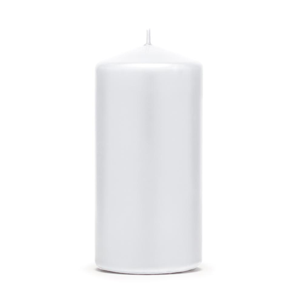 Large Pillar Candle - White