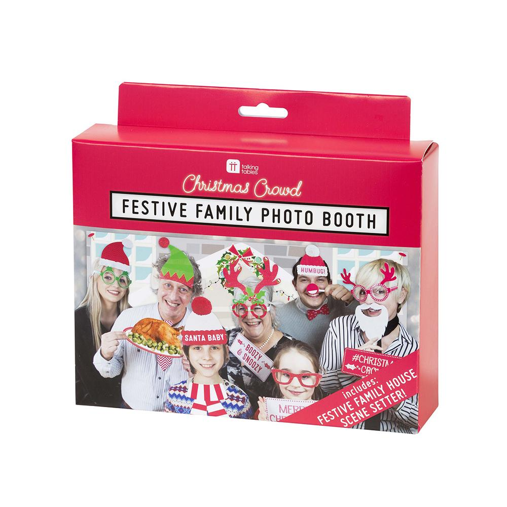 Festive Family Photo Booth (x20 props)
