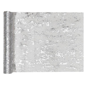 Shiny Table Runner Silver