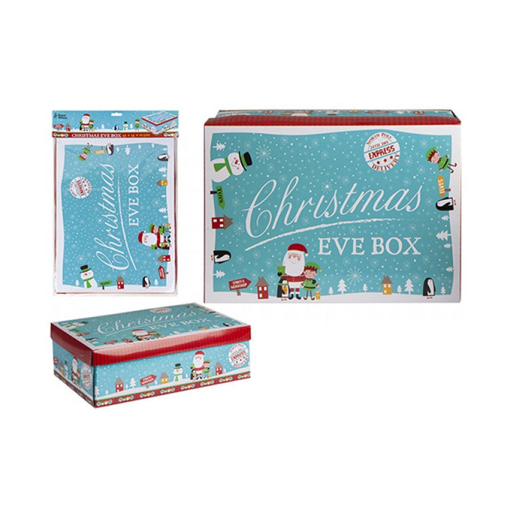 Blue Characters Christmas Eve Box