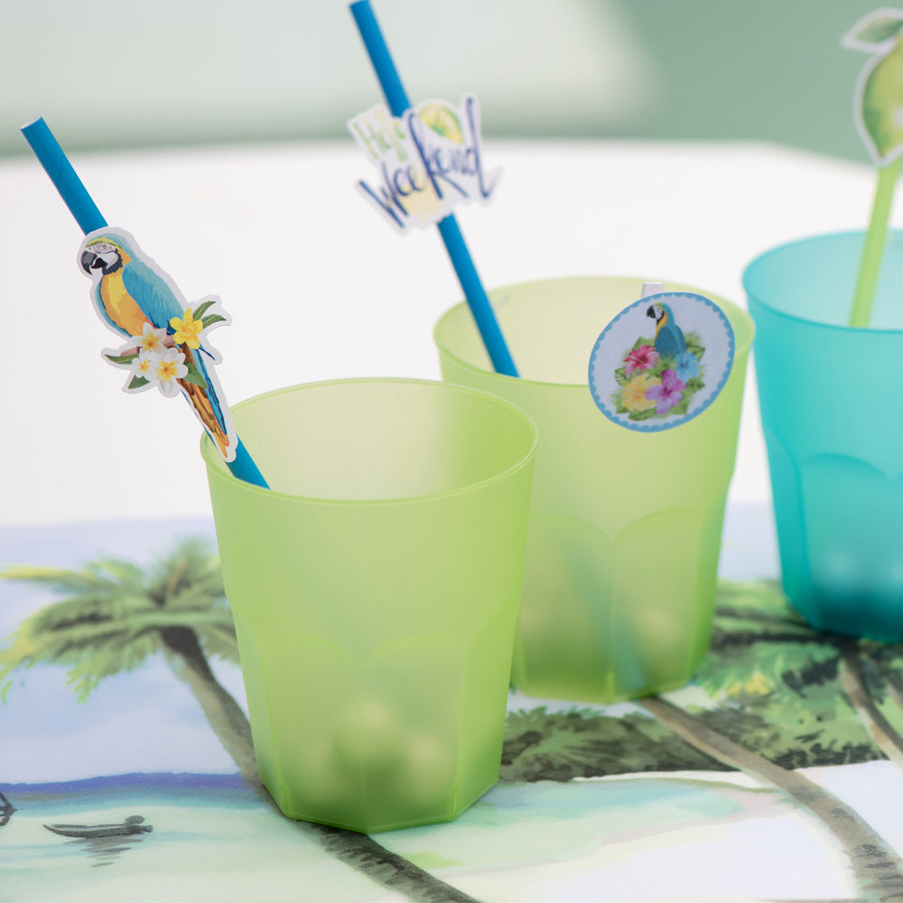 Reusable Drink Cup Green (x20)