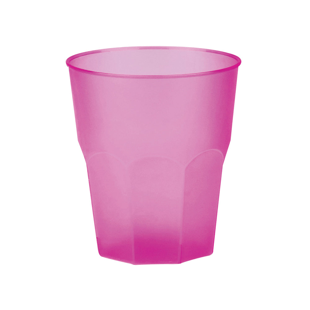 Reusable Drink Cup Pink (x20)