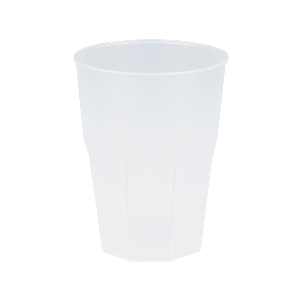 Reusable Drink Cup Frosted (x6)