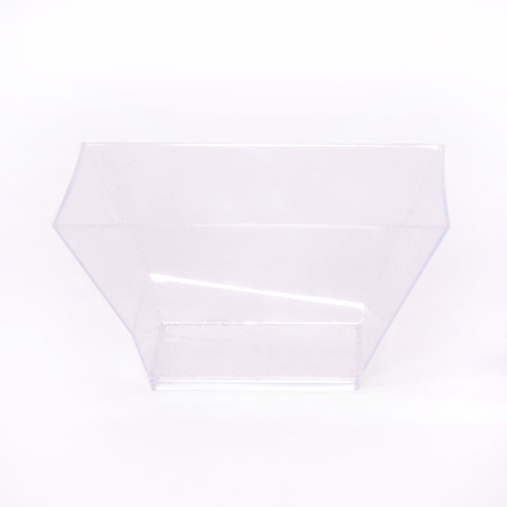 Square Serving Bowl Clear 0.5l (x10)