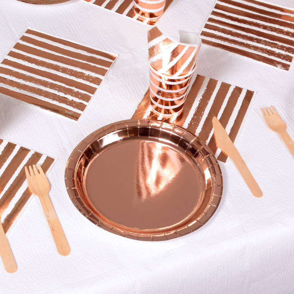 Rose Gold Table Set